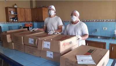 Sector ganadero hace primera entrega de donaciones a 15 comedores pastorales