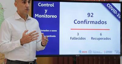 Casos de Covid-19 siguen en ascenso en Asunción y Central