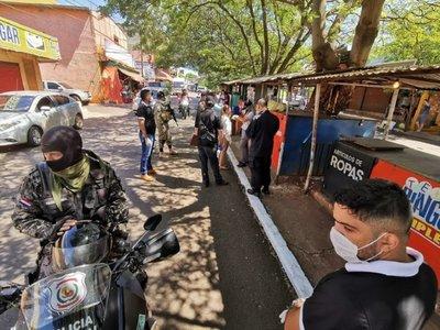 Intensos controles y cierres de accesos a algunas ciudades por cuarentena