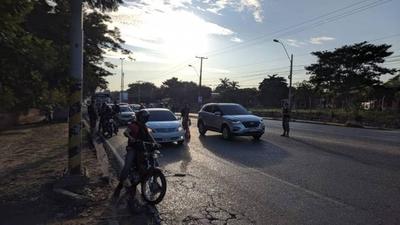 HOY / La Patrulla Caminera registró una baja circulación vehicular en rutas, pero sí en zonas urbanas