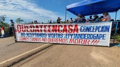 HOY / Concepción cierra el puente Nanawa con el fin de no permitir el ingreso de ninguna persona a la ciudad