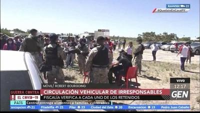 HOY / Más de 50 conductores, son verificados por la fiscalía tras incumplir con la cuarentena