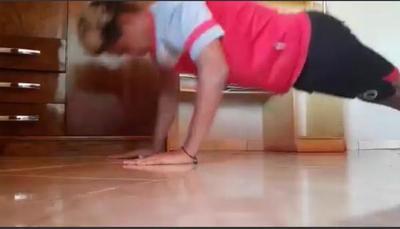 Jugadores se ingenian para seguir con actividades físicas