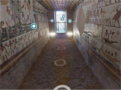 Egipto abre sus tumbas de manera virtual en medio de la pandemia