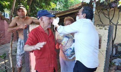 Central entregará 5.000 kits de alimentos