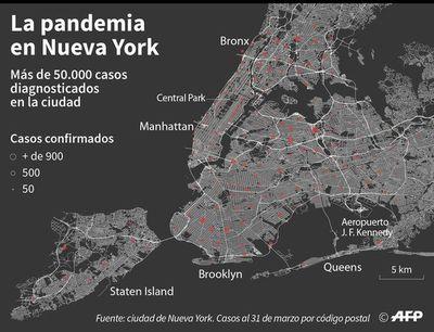 No hay suficientes respiradores en Nueva York, el Estado los confiscará