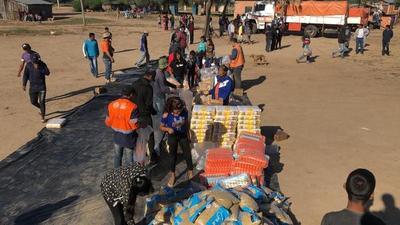 Comenzó distribución de kits de alimentos en varias localidades del Chaco