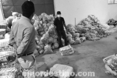 Entregan kits de alimentos a familias vulnerables en las ciudades de Concepción y Horqueta