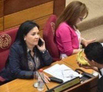 Efraín Alegre pide pérdida de investidura de senadora Bajac