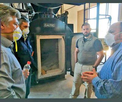Mario Abdo acompañó hoy revisión técnica  del horno de la Senad