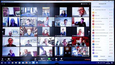 La aplicación de video Zoom salta a la fama en medio de la pandemia
