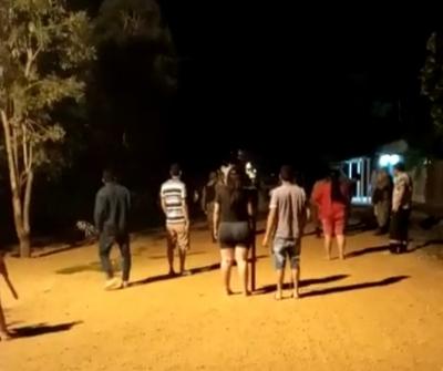 Cansados de hurtos, vecinos de Redención se levantaron contra nativos