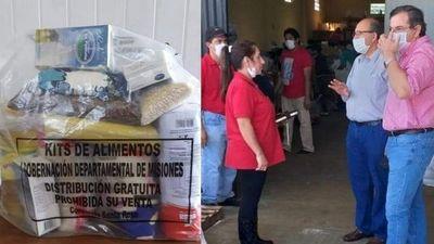 La Gobernación de Misiones prepara 400 mil kilos de alimentos para ser distribuidos