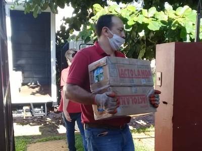 MDS proveyó más de 3.700 kilos de alimentos a comedores de Central