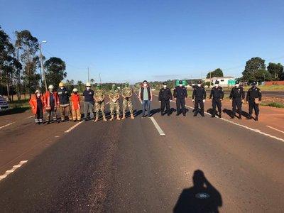 Estrictas barreras de control para ingresar y salir de Caaguazú