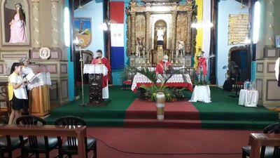 Domingo de Ramos diferente en Santaní