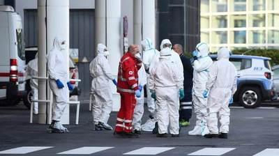 Italia registra 525 muertos en 24 horas, la menor cifra en más de dos semanas