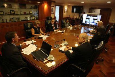 Ministros de la Corte trabajarán desde sus domicilios