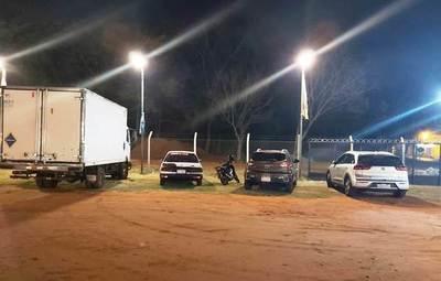 Luque: Seis detenidos y 14 vehículos incautados en control anticoronavirus •