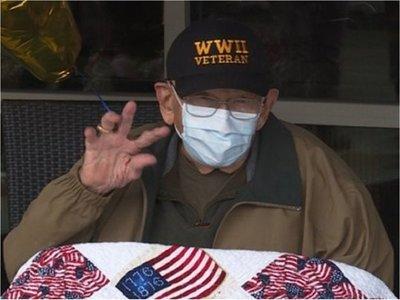 Hombre de 104 años superó gripe española, Segunda Guerra y coronavirus