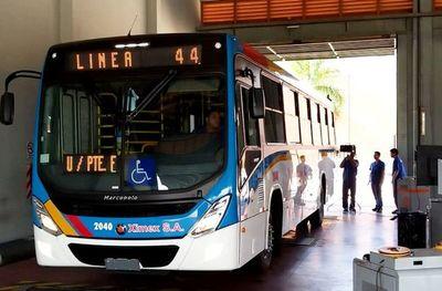 Líneas del transporte público que deben operar durante Semana Santa
