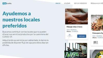 A la Vuelta: la web que ayuda a que tu negocio no quede sin ingresos durante la cuarentena