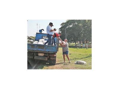 La Comuna de Belén inicia  distribución de  víveres a familias