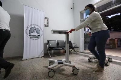 Entregan ventiladores pulmonares al Ministerio de Salud