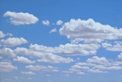 Lluvias para hoy y buen clima durante los próximos días