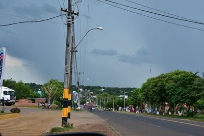 Jornada lluviosa en Misiones