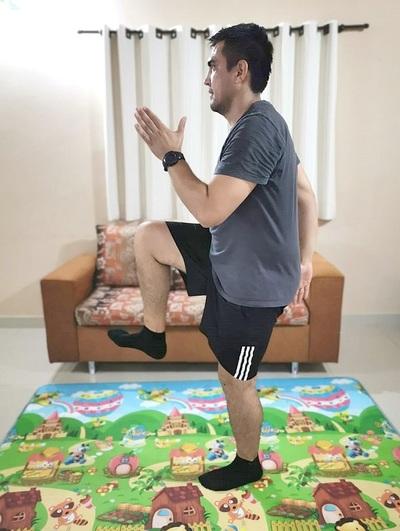 Recomiendan practicar actividad física durante la cuarentena
