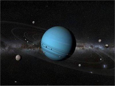 Científicos explican el misterio de los satélites de Urano