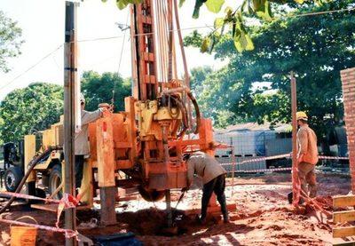 Pozos para provisión de agua en zonas críticas entrarán en funcionamiento desde esta semana