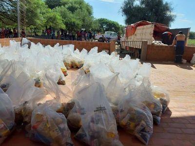 Comunidades chaqueñas insatisfechas con cantidad de víveres entregados