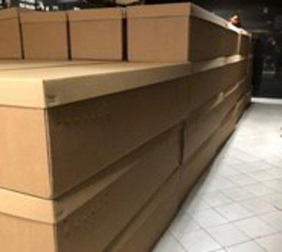 Coronavirus: Presentan ataúdes de cartón en Ecuador
