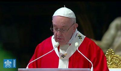 El Papa recomienda inspirarse en los valores del deporte