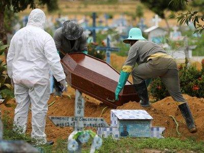 Brasil llega a 553 muertes por Covid-19 y supera los 12.000 casos confirmados
