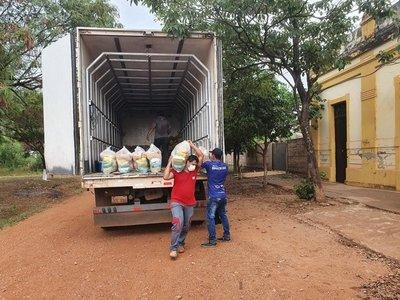 Inician entrega de kits de alimentos para escolares en Concepción