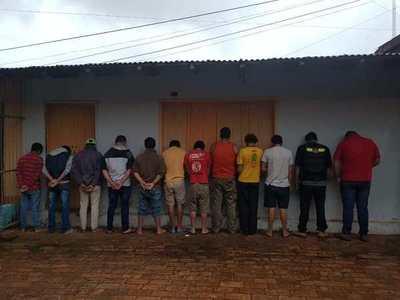 Lluvia de detenidos el fin de semana en Campo 9