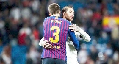 Piqué y Ramos se unen para estar activos