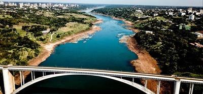Río Paraná registra el nivel MAS BAJO en 40 años
