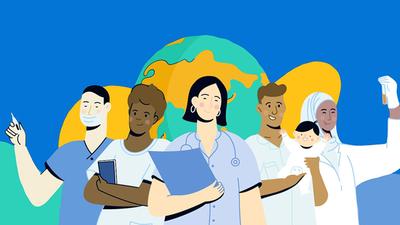 Día mundial de la salud, con una pandemia latente que ya se cobró la vida de miles de personas