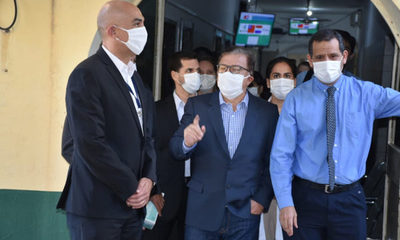 EBY realiza entrega de  Gs. 1.900 millones para equipar al Hospital San Jorge