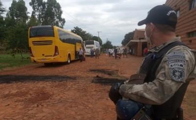 Viajeros en albergues del Alto Paraná sin síntomas hasta el momento