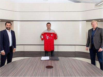 El Bayern Múnich prolonga el contrato a Thomas Müller