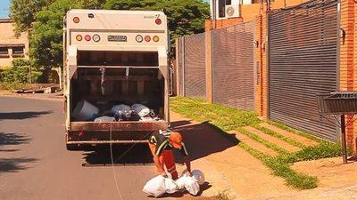 Recolección de basura en Asunción irá hasta el jueves
