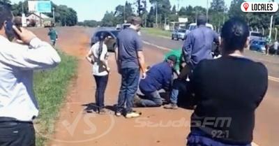 Motociclista falleció tras accidente de tránsito en Capitán Miranda