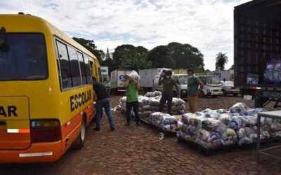 Gremio de empresarios ya entregó más de 8.000 kits de alimentos a trabajadores del microcentro