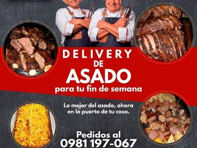 En esta semana santa llegó asado delivery, con 'Asado Benítez'