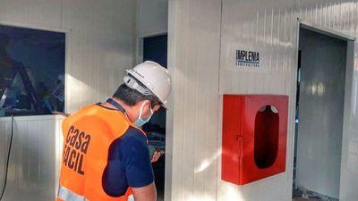 Inicia el equipamiento de los hospitales de contingencia